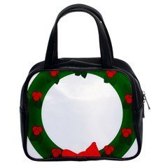 Holiday Wreath Classic Handbags (2 Sides)