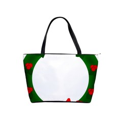 Holiday Wreath Shoulder Handbags