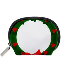 Holiday Wreath Accessory Pouches (small)