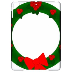 Holiday Wreath Apple Ipad Pro 9 7   Hardshell Case by Amaryn4rt