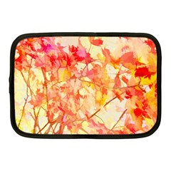 Monotype Art Pattern Leaves Colored Autumn Netbook Case (medium)