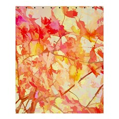 Monotype Art Pattern Leaves Colored Autumn Shower Curtain 60  X 72  (medium)  by Amaryn4rt