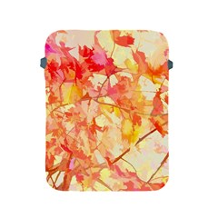 Monotype Art Pattern Leaves Colored Autumn Apple Ipad 2/3/4 Protective Soft Cases