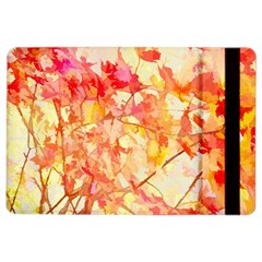 Monotype Art Pattern Leaves Colored Autumn Ipad Air 2 Flip by Amaryn4rt