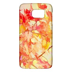 Monotype Art Pattern Leaves Colored Autumn Galaxy S6 by Amaryn4rt