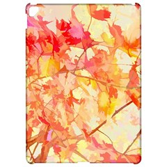 Monotype Art Pattern Leaves Colored Autumn Apple Ipad Pro 12 9   Hardshell Case
