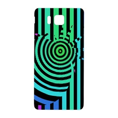 Art Of A Cat Popping A Balloon Samsung Galaxy Alpha Hardshell Back Case by AnjaniArt