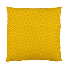 Yellow Flower Standard Cushion Case (one Side) by AnjaniArt