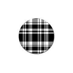 Black Golf Ball Marker (10 Pack)