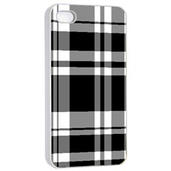Black Apple Iphone 4/4s Seamless Case (white)