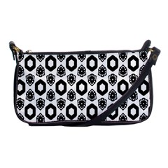 Background Pattern Shoulder Clutch Bags by AnjaniArt