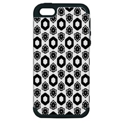 Background Pattern Apple Iphone 5 Hardshell Case (pc+silicone)