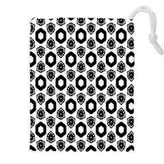 Background Pattern Drawstring Pouches (xxl) by AnjaniArt