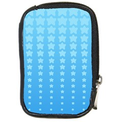 Blue Stars Background Compact Camera Cases