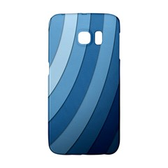 Blue Wave Galaxy S6 Edge by AnjaniArt