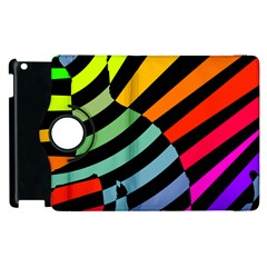 Casino Cat On The Verge Of Scratch Attack Apple Ipad 3/4 Flip 360 Case by AnjaniArt