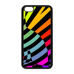 Casino Cat On The Verge Of Scratch Attack Apple Iphone 5c Seamless Case (black)