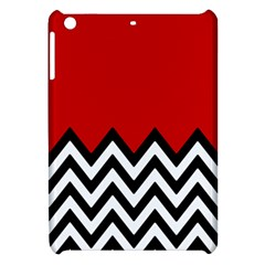 Chevron Red Apple Ipad Mini Hardshell Case by AnjaniArt