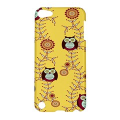 Cheery Owls Yellow Apple Ipod Touch 5 Hardshell Case