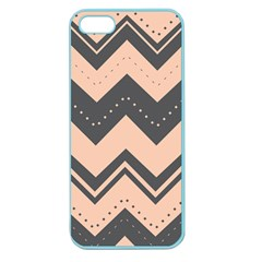 Chevron Ideas Gray Colors Combination Apple Seamless Iphone 5 Case (color) by AnjaniArt