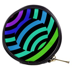 Colorful Roulette Ball Mini Makeup Bags by AnjaniArt
