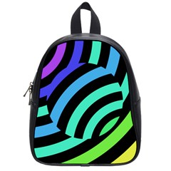 Colorful Roulette Ball School Bags (small)  by AnjaniArt