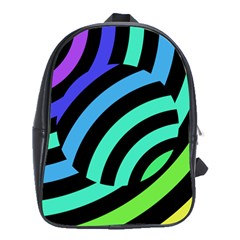 Colorful Roulette Ball School Bags (xl)