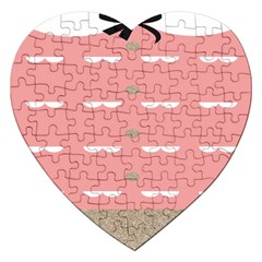Cool Rose Jigsaw Puzzle (heart) by AnjaniArt
