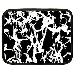Dancing Yoga Netbook Case (xxl)  by AnjaniArt