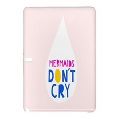 Dont Crt Fun Mermaids Pink Samsung Galaxy Tab Pro 12 2 Hardshell Case by AnjaniArt