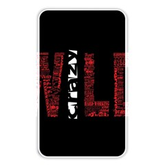 Crazy Wild Style Background Font Words Memory Card Reader