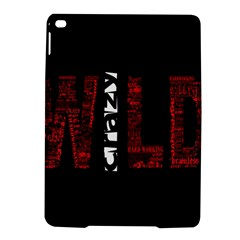 Crazy Wild Style Background Font Words Ipad Air 2 Hardshell Cases by AnjaniArt