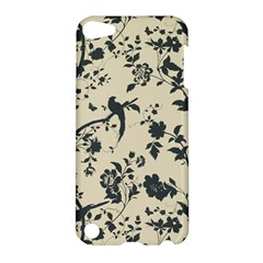 Cottonwood White Leaf Wallpaper Bird Apple Ipod Touch 5 Hardshell Case by AnjaniArt