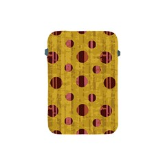 Dot Mustard Apple Ipad Mini Protective Soft Cases by AnjaniArt