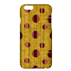 Dot Mustard Apple Iphone 6 Plus/6s Plus Hardshell Case by AnjaniArt