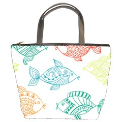 Fish Bucket Bags by AnjaniArt