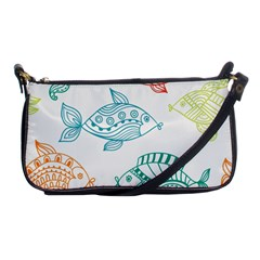 Fish Shoulder Clutch Bags by AnjaniArt