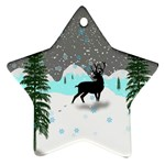 Rocky Mountain High Colorado Star Ornament (Two Sides)  Back