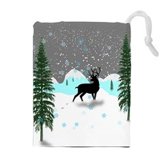 Rocky Mountain High Colorado Drawstring Pouches (extra Large) by Amaryn4rt