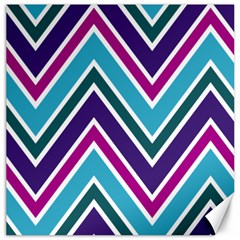 Fetching Chevron White Blue Purple Green Colors Combinations Cream Pink Pretty Peach Gray Glitter Re Canvas 20  X 20