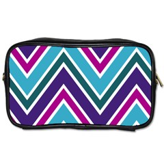Fetching Chevron White Blue Purple Green Colors Combinations Cream Pink Pretty Peach Gray Glitter Re Toiletries Bags 2 Side