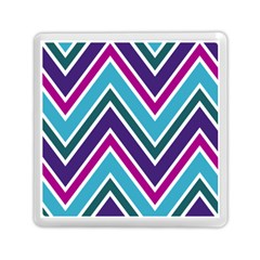 Fetching Chevron White Blue Purple Green Colors Combinations Cream Pink Pretty Peach Gray Glitter Re Memory Card Reader (square)