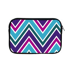 Fetching Chevron White Blue Purple Green Colors Combinations Cream Pink Pretty Peach Gray Glitter Re Apple Ipad Mini Zipper Cases by AnjaniArt