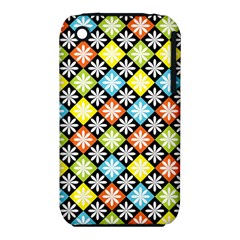 Diamond Argyle Pattern Flower Iphone 3s/3gs by AnjaniArt