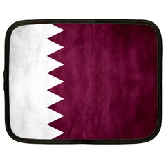 Flag White Purple Netbook Case (xxl)  by AnjaniArt