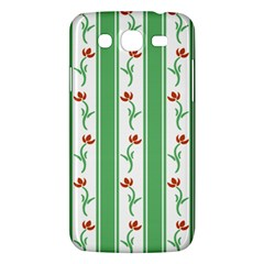 Flower Background Green Samsung Galaxy Mega 5 8 I9152 Hardshell Case