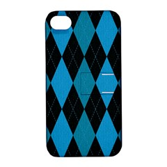 Fabric Background Apple Iphone 4/4s Hardshell Case With Stand by AnjaniArt