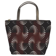 Free Dot Spiral Seamless Bucket Bags by AnjaniArt