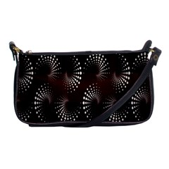 Free Dot Spiral Seamless Shoulder Clutch Bags