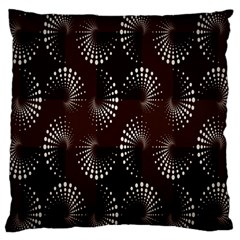 Free Dot Spiral Seamless Standard Flano Cushion Case (two Sides) by AnjaniArt